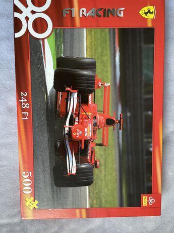 Puzzle 500 szt F1 Racing