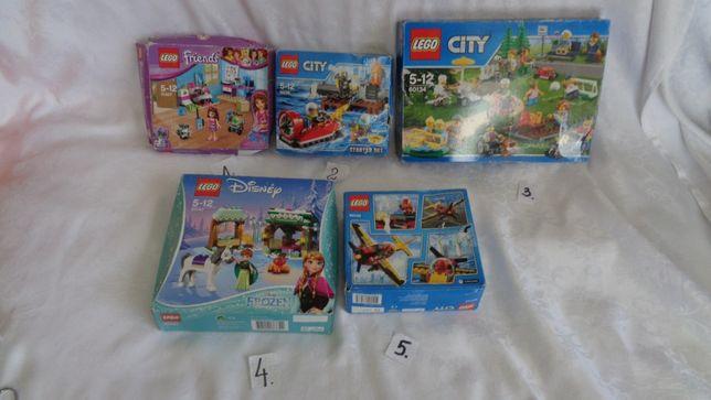 NOWE-Klocki LEGO -Frozen-Disney i City- Na sztuki