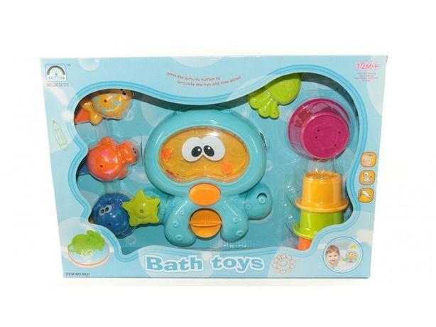 Игрушка для ванной  осьминог