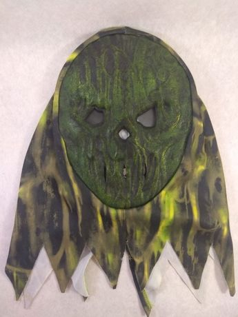 карнавальная маска зомби детская(7-8 лет)