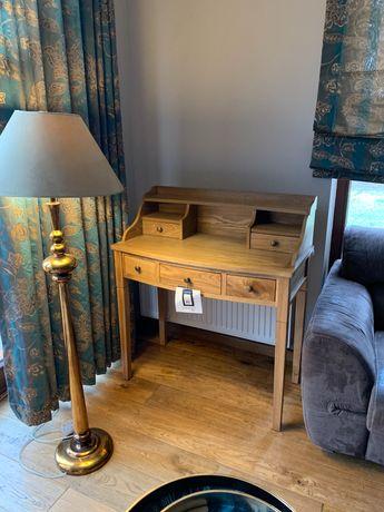 Sekretarzyk biurko drewniane SAFAVIEH retro