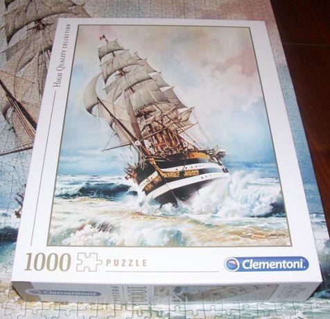 Puzzle 1000el.kompletne