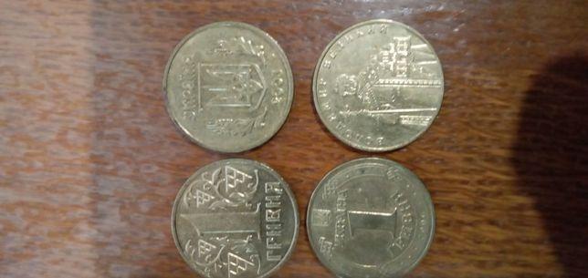 Монети одна гривня