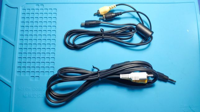 Cabo vídeo Canon VC100 AVC-DC400 AVC-DC300 para ligar maquina à TVcc
