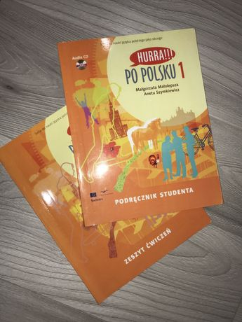 Учебник и тетрадь  Hurra Po Polsku