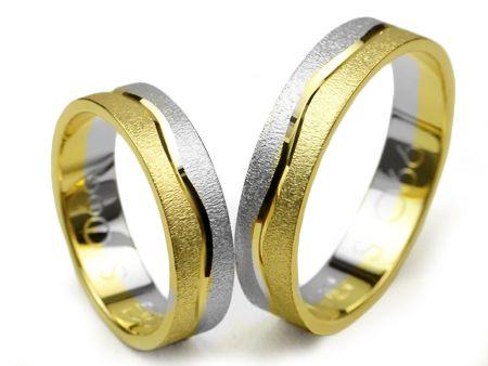Złote Obrączki Ślubne 585 S066 5mm Jubiler Goldrun - Bezszwowe