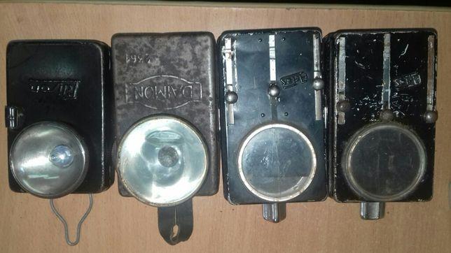 старинные немецкие ручные фонарики. Артас.Эдисон.Диамант
