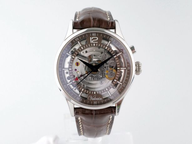 Мужские бу часы Vulcain Golden Heart Alarm 39 мм