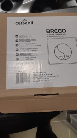 Przycisk spłuczki Cersanit BREGO