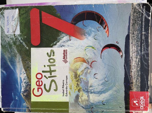 Manual de geografia Usado 7 ano
