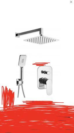 Nowy zestaw prysznicowy deante alpinia karton chromowany