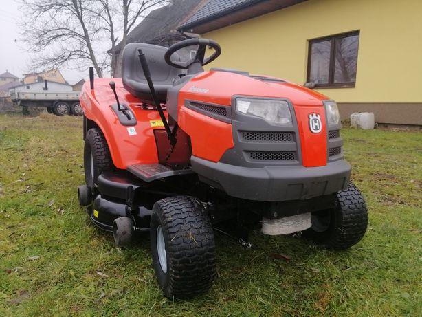 Traktorek kosiarka HUSQVARNA 18KM, V2, pompa oleju, hydro, jak nowy!