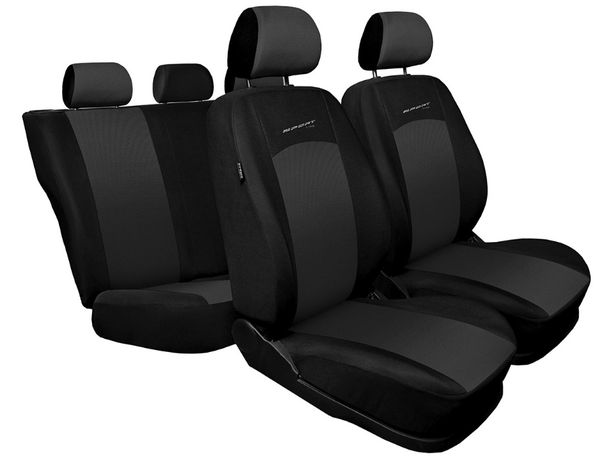 pokrowce samochodowe na fotele FIAT PUNTO 1 2 PANDA DOBLO TIPO FIORINO