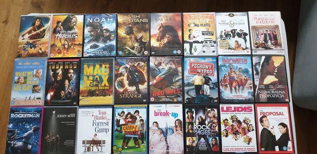 Zestaw 130 filmów na dyskach DVD