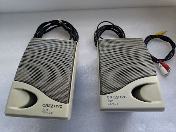Creative Speakers CS36 vintage Colunas de Som