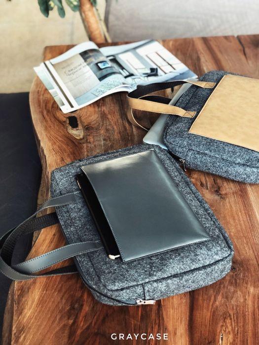 Стильная эко-сумка для ноутбука Киев - изображение 1