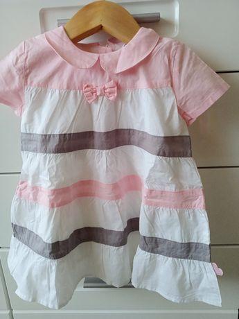 Nowa sukienka na lato r. 74