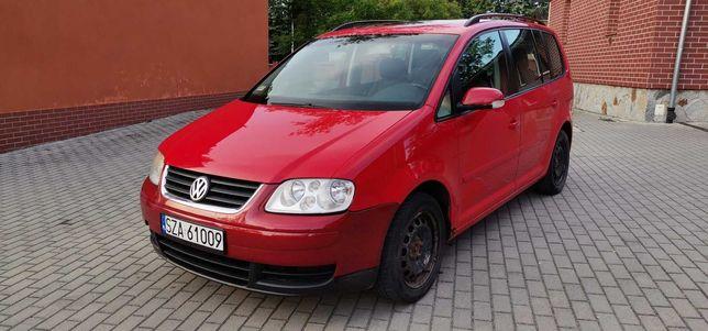 VW Volkswagen Touran 1,9 TDI Sprawny 6 Biegów BOGATY