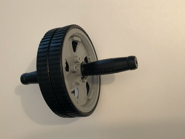 Koło kółko do ćwiczeń Fitness wałek roller ab wheel do mięśni brzucha