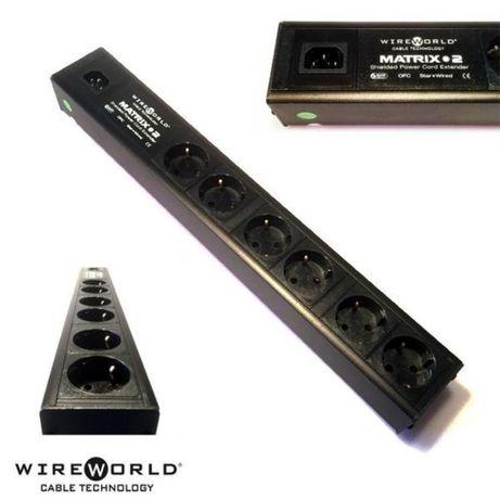 WireWorld Matrix 2 Listwa zasilająca 6 gniazdek Trans Audio Hi-Fi