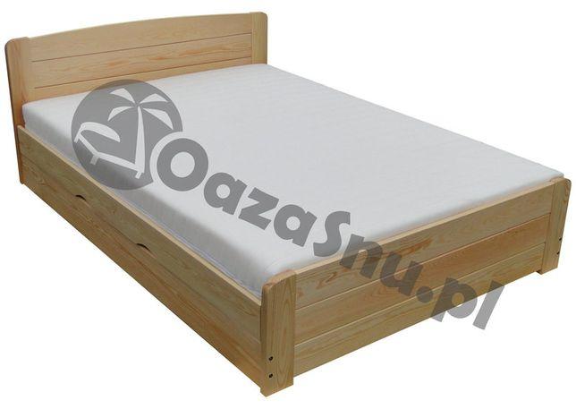 łóżko otwierane z boku ze skrzynią i pełnymi szczytami WERSAL 140x210