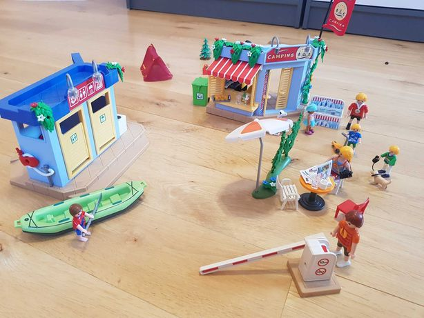 Playmobile Duży plac kempingowy