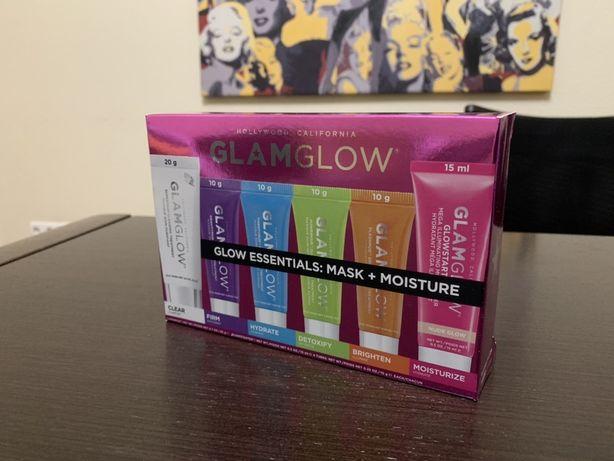 GLAMGLOW Glow Essentials Mask + Moisture Set набор мини масок для лица