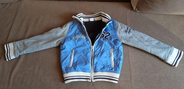 Куртка - ветровка Dirkie утепленная на рост 110-130 см