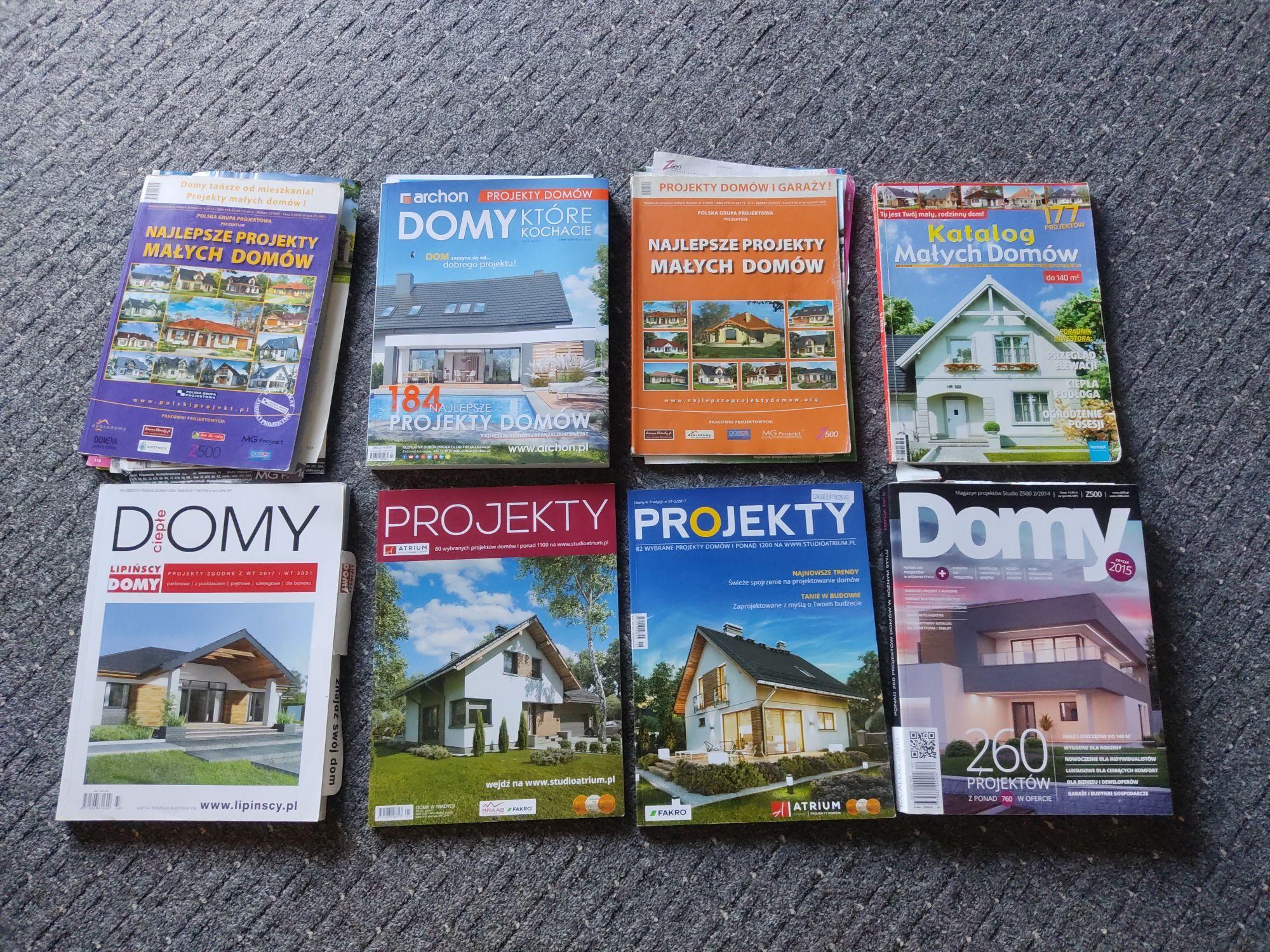 Katalogi z projektami domów