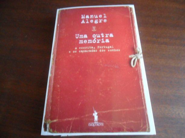 """""""Uma Outra Memória"""" de Manuel Alegre"""