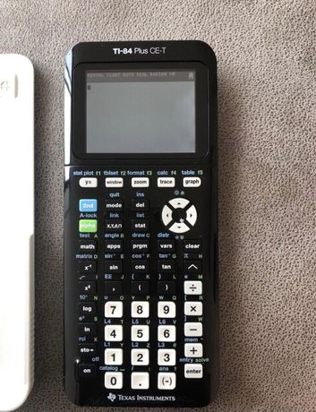 Maquina Calculadora Texas Instruments TI-84 Plus CE-T