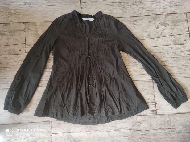 Koszula Zara r. S zielony