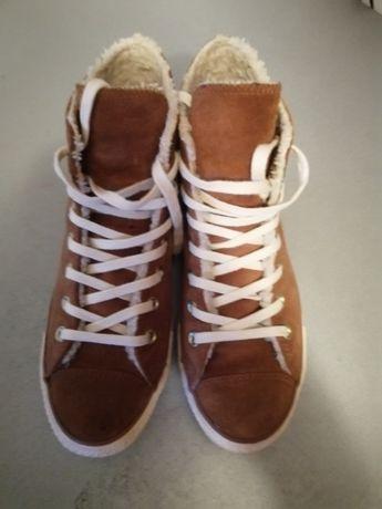 Converse all star 39р зимние ботинки сникерсы оригинал.
