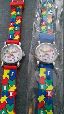Zegarek dziecięcy puzzle