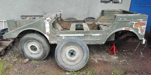 Samochód terenowy wojskowy DKW MUNGA AUTOUNION 1963rok