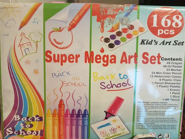 Zestaw kreatywny- artystyczny  dla dzieci