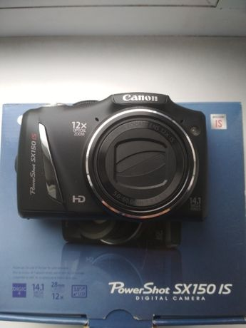 Фотоаппарат Canon powershot sx150 is.Продажа или обмен на электронику.