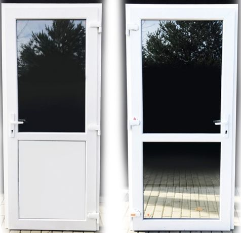 PCV drzwi Nowe plastikowe, ciepłe białe 90x210 739 netto