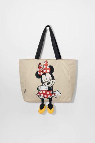 Zara сумка шоппер минни детская