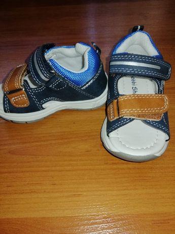 Новые сандали на мальчика кожа