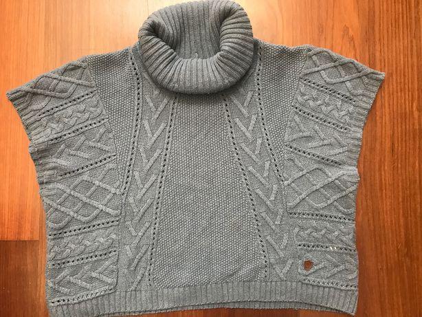 Camisola inverno sem manga Massimo Dutti menina tam 110-134cm