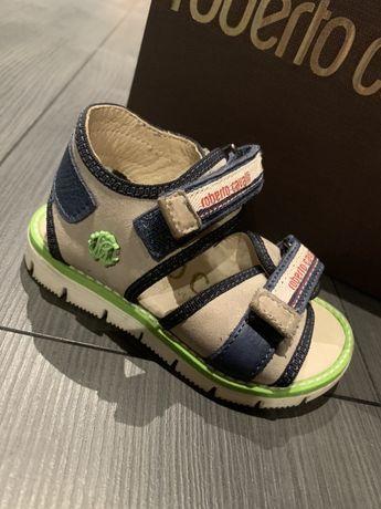 Roberto Cavalli oryginalne sandały sandałki buty 21