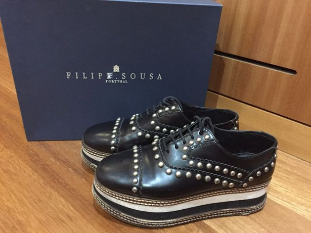 Sapatos Eureka Filipe Sousa em pele