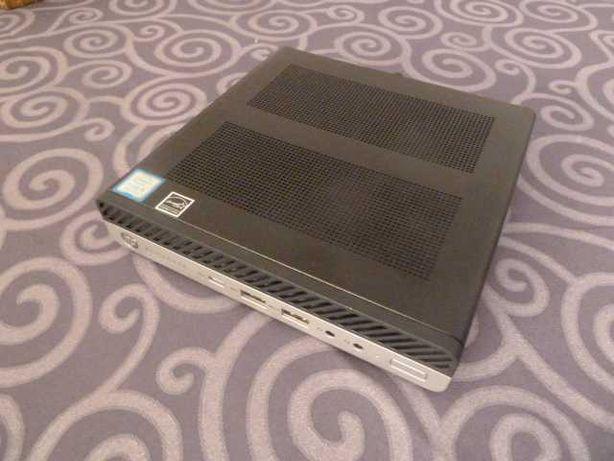 Hp EliteDesk 800 G4 DM 65W - i3 8100 , 16Gb Ddr4 , 256Gb NVME