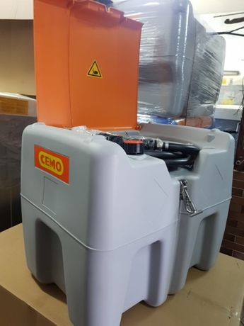 Zbiornik mobilny, przewoźny 210l CEMO profesjonalny z ADR