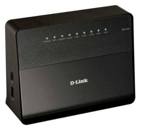 Продам роутер D-Link DIR-320