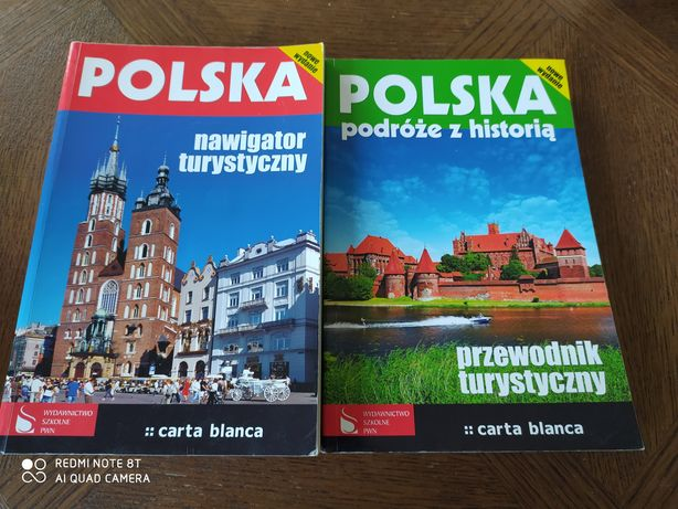Polska nawigator turystyczny podróże z historią carta Blanca