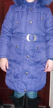 Пальто для деврчки КIKO рост 140