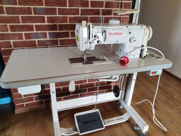 Maszyna do szycia ciężkiego SunStar jednoigłówka stębnówka