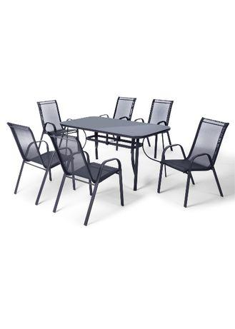 Stół + 4 lub 6 krzeseł!Meble ogodowe, tarasowe!Zestaw mebli ogrodowych